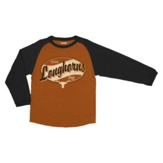 NCAA Kids T Shirt TEAM Texans   Brown (M)