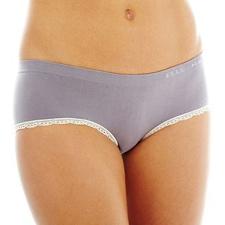 THE BODY Elle Macpherson Intimates Seamless Hipster Panties, Heathr Mist Slvr P