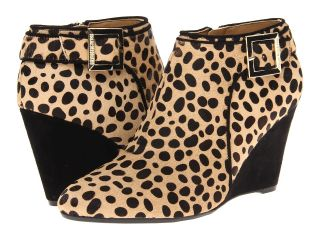 Isaac Mizrahi New York Winonalee Womens Zip Boots (Animal Print)