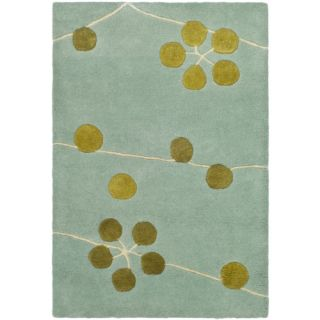 Safavieh Soho Light Blue/Gold Rug SOH327A Rug Size 2 x 3