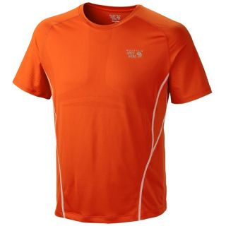 Mountain Hardwear Way2Cool T Shirt   Short Sleeve (For Men)   STATE ORANGE (2XL )