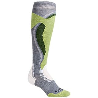 Bridgedale Control Fit Ski Socks   Midweight (For Women)   STONE/SPRING/GREEN (S )