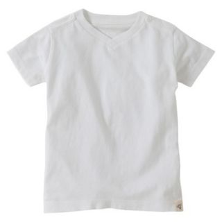 Burts Bees Baby Toddler Boys V Neck Tee   Cloud 4T
