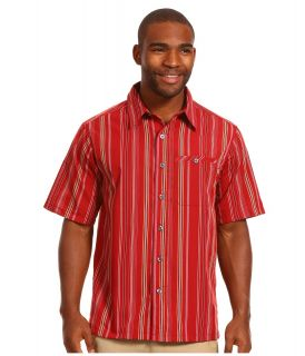 Outdoor Research Cragmatic S/S Shirt Mens Short Sleeve Button Up (Mahogany)