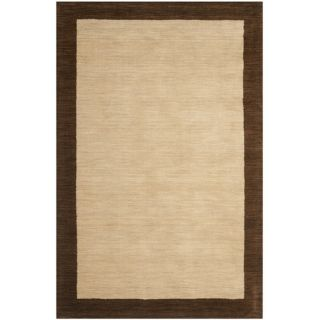 Safavieh Himalayan Beige/Dark Brown Rug HIM585A Rug Size 6 x 9