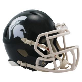 Riddell NCAA Michigan State Speed Mini Helmet   Green