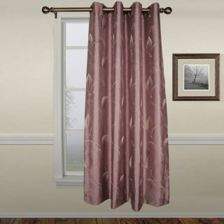 A L Ellis Inc Ellis Astonish Lavender Grommet Top lined Panel   50 x 84 in.