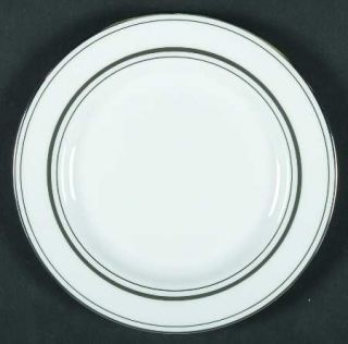 Lenox China Library Lane Platinum Bread & Butter Plate, Fine China Dinnerware