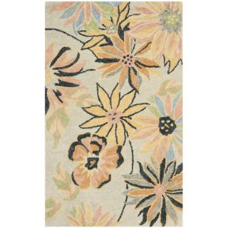 Safavieh Blossom Light Blue / Multi Rug BLM789A  Rug Size 3 x 5
