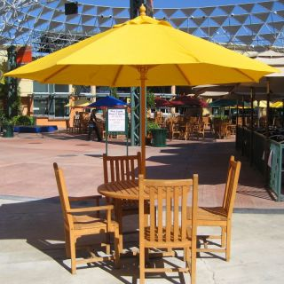 Galtech 9 ft. Commercial Grade Patio Umbrella Sunbrella Dolce Mango / Grade A