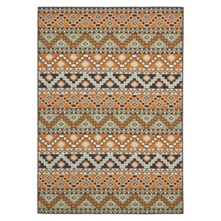 Safavieh Kiawah Indoor/Outdoor Area Rug   Terracotta/Chocolate (53x77)