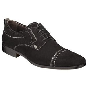 Bacco Bucci Mens Ferraro Black Shoes   2252 46 001