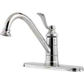 Price Pfister Portland One Handle Centerset Bar Kitchen Faucet GT34 1P