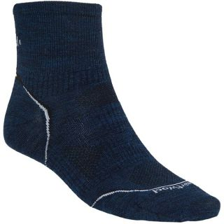 SmartWool PhD Multisport Mini Socks   Merino Wool (For Men)   NAVY (L )