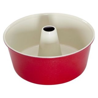 Angel Food Cake Pan Red