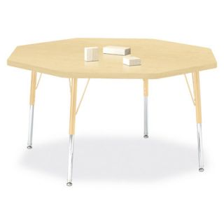 Jonti Craft Berries Octagon Activity Table (48 x 48) 6428JC251 Size 24 H