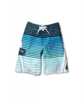 Rip Curl Kids Check Dosed Boardshort Boys Swimwear (Blue)