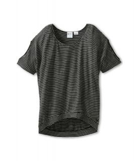 Roxy Kids Rule Breaker S/S Top Girls T Shirt (Gray)