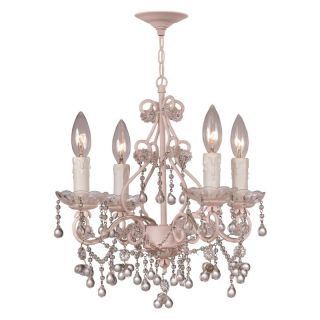 Crystorama 4514 BH CL Paris Flea Market Chandelier   14W in. Multicolor   4514
