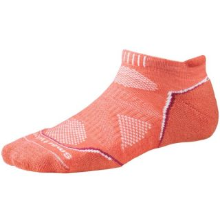 SmartWool PhD Light Micro Running Socks (For Women)   POPPY (L )