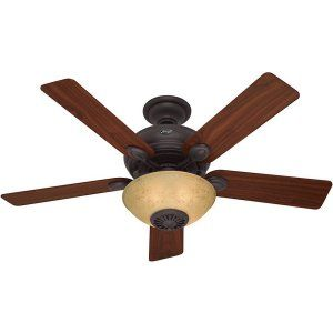 Hunter HUF 59033 Westover Innovation Ceiling Fan with light and remote