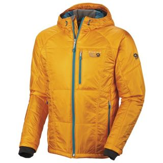 Mountain Hardwear Hooded Compressor Jacket   Insulated (For Men)   RADIANCE (L )