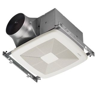 Broan XB80 Bathroom Fan, 80 CFM Single Speed ULTRA X1 Series amp; Energy Star Rated for 6 Duct