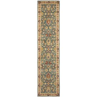 Safavieh Antiquities Blue/Beige Rug AT15A Rug Size Runner 23 x 10