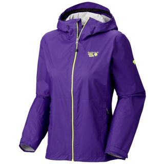 Mountain Hardwear Plasmic Jacket   Waterproof (For Women)   NIGHT PURPLE (M )
