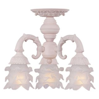 Crystorama 5223 BH Paris Flea Market Ceiling Light   15W in.   Blush Multicolor