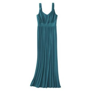 Merona Petites Sleeveless Maxi Dress   Monteray Blue MP