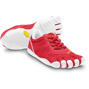 Vibram FiveFingers Kids Speed Youth Red White Shoes   13Y3303