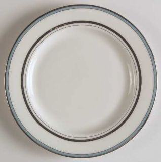 Lenox China Library Lane Aqua Bread & Butter Plate, Fine China Dinnerware   Kate