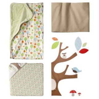 4pc Crib Bedding Set with Complete Sheet   Treetop Friends by Skip Hop