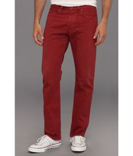 Lucky Brand 121 Heritage Slim in Wild Cherry Mens Jeans (Red)