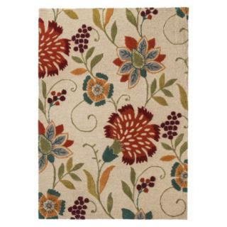 Threshold Floral Wool Area Rug   Multi (5x7)