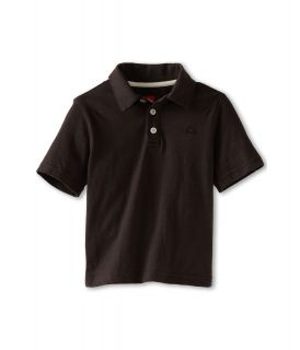 Quiksilver Kids Get It Polo Boys Short Sleeve Pullover (Black)