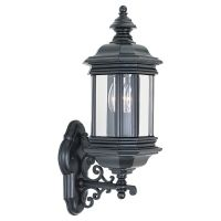 Sea Gull Lighting SEA 8838 12 Hill Gate Two Light Hill Gate Outdoor Wall Lantern