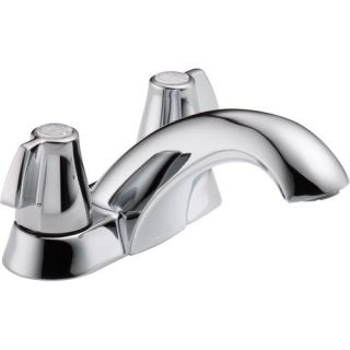 Delta 2500 Bathroom Faucet, Classic TwoHandle w/Blade Knobs Chrome