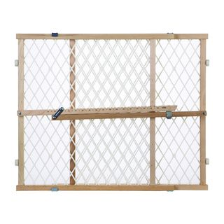 North States Diamond Mesh Wood Gate