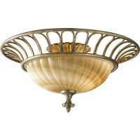 Feiss FM340OSL Bancroft 2   Light Indoor Semi Flush Mount