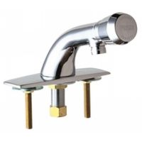 Chicago Faucets 857 E12 665PSHVPAABCP Universal Single Hole Metering Faucet