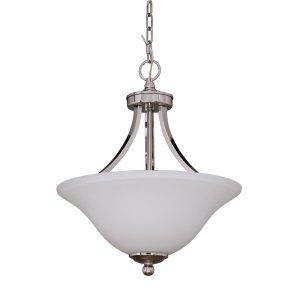 Craftmade CRA 9816PLN2 Portia 2 Light Convertible Semi Flush/Pendant