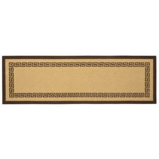 Ecoaccents Brown Greek Key Rug Jtrg0 Rug Size Runner 26 x 8