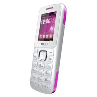 BLU Jenny TV 2.8 T176T Unlocked GSM Dual SIM Cell Phone   White/Pink