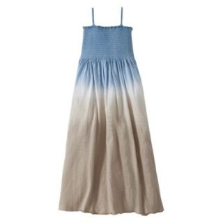 Burts Bees Baby Toddler Girls Dip Dye Beach Dress   Dusk Blue 2T