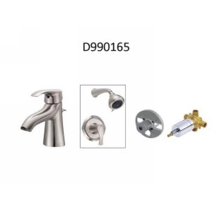 Danze D990165 Corsair  Single Handle Lav Faucet, Tub & Shower Trim, & Valve (Com