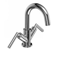 Riobel EXTM01L BN Exquisite Two Handle Single Hole Bathroom Faucet