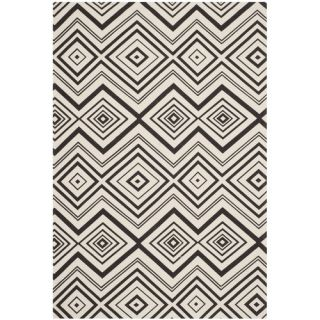 Safavieh Cedar Brook Ivory / Brown Rug CDR142B Rug Size 5 x 8