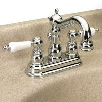 Dynasty Hardware DYN SC 42959 CM Victorian Two Handle Lavatory Faucet